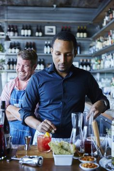 Haven bartender Gedeon Tsegaye