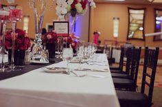 Modern Elegant Pink & Black California Wedding