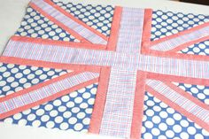 Diary of a Quilter - a quilt blog: Union Jack Quilt Blocks