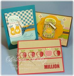 Perfectly Preserved by Belinda Tubby.  Stampin' Up!