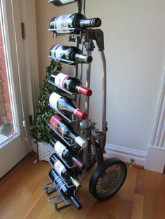 1950's Golf Caddy  Wine Rack by woskab on Etsy, $275.00