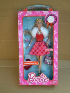 Barbie Holiday Surprise Red Christmas Dress Target Exclusive Doll 2013 Mattel | eBay