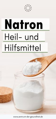Heil- und Hilfsmittel Natron Everyone knows soda. Namely as a raising agent for cakes, pastries and sometimes for bread. The fact that soda can also. Health Tips, Health And Wellness, Magnesium Benefits, Pumpkin Spice Cupcakes, Bear Cakes, Planking, Few Ingredients, Detox Recipes, Ice Cream Recipes