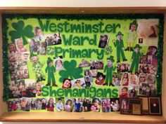 Westminster Ward St. Patrick's Day bulletin board 2015 by Tala Campbell