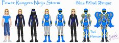 Blue Ninja by Ameyal on DeviantArt Power Rangers Ninja Storm, Power Rangers Art, Ranger Armor, Deviantart, Blue