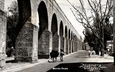 Acueducto 1970 en Morelia Michoacan Mexico