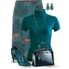 """Teal"" by oribeauty-cosmeticos on Polyvore"