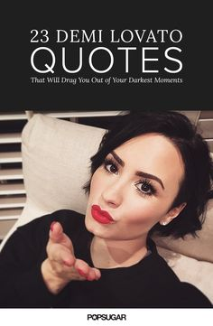 Demi Lovato has always stood out as a breath of fresh air, so we've rounded up her honest, genuine, and wholeheartedly inspiring quotes that are sure to touch your heart, whether you've found yourself in a dark place or just need a quick dose of reassurance!