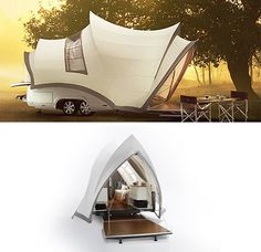 is it a tent or the Sydney Opera House?