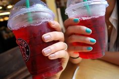Passion Tazo Tea from Starbucks. Summertime go-to drink!