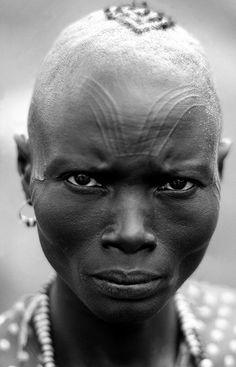 Africa | S. Sudanese Woman | © Nick Rain
