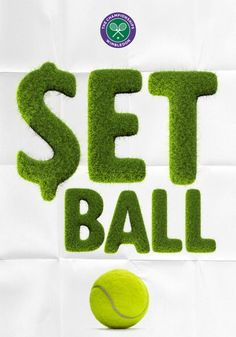 Tennis Grass Font is a sports font made by hand which benefits from a large suite of alternate characters. This unique font is for designing with fun 3d Typography, Typographic Design, Tennis Decorations, Sports Fonts, Tennis Posters, Play Poster, Font Setting, Creating A Brand, The Incredibles