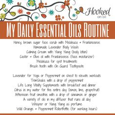 My Daily dōTERRA Essential Oils Routine (Hooked On Oil)