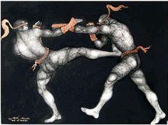 Muay Thaii Martial Arts.