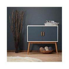 Retro Sideboard Furniture Wood 2 Doors Cupboard Cabinet Storage Shelves Buffet