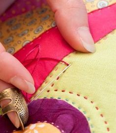 Beginner's guide to hand quilting by Sarah Fielke