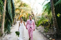 Isabel Seely and Gregory Buntain's Elegant Wedding on Kamalame Cay in the Bahamas