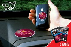 "Arizona State Get a Grip 2 Pack - Let your favorite team get a grip on your device! Never wonder where your phone is again. This new product innovation utilizes two polymer grips that adhere to each other leaving you hands free. UAV Resistant. No residue left behind. Now comes in a 2 Pack FANMATS Series: 2GETAGRIPTeam Series: Arizona State UniversityProduct Dimensions: small 1.5"" / large 3""Shipping Dimensions: 8""x6""x1"". Gifts > Licensed Gifts > Ncaa > All Colleges > Arizona State University…"