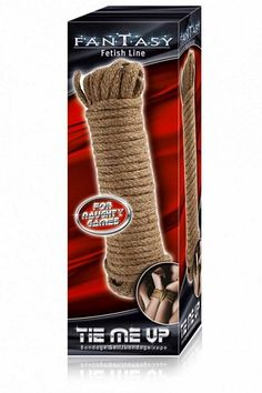 Fantasy Tie Me Up - Bondage reb - 10 meter - natur fra Fantasy - Sexlegetøj leveret for blot 29 kr. - 4ushop.dk - Fantasy Fetish Line er en spændende serie af produkter som kan sætte ekstra krydderi på det hjemmelige sexforhold og er gode fetish produkter til både begyndere og erfarne.