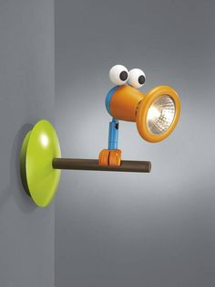 Birdey children's wall light