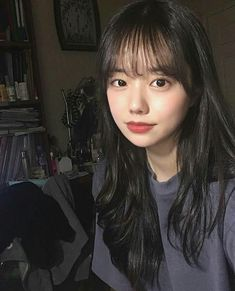 Ulzzang Korean Girl, Cute Korean Girl, Cute Asian Girls, Cute Girls, What A Girl Is, Cute Korean Fashion, Stunning Girls, Beautiful, Korean Face