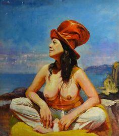 Marco Ortolan.  Argentina. Las Mujer del Sombrero Rojo.