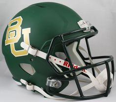 Old Ghost Collectibles - Baylor Bears NCAA Riddell Full Size Speed Replica Football Helmet, $98.99 (http://www.oldghostcollectibles.com/baylor-bears-ncaa-riddell-full-size-speed-replica-football-helmet/)