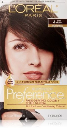 L'Oreal Superior Preference - 4 Dark Brown 1 EA - Buy Packs and SAVE (Pack of 3) >>> This is an Amazon Affiliate link. See this great product.