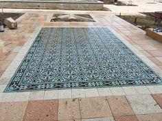 Cuban Cement Tile Rug - Pattern CH140-2B | Avente Tile