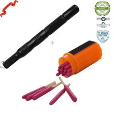 Amazon.com : ieasycan® EDC Alloy Fire starter Waterproof Magnesium flint stone CNC gear pocket outdoor : Sports & Outdoors