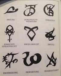 Bildergebnis Fur Runen Shadowhunters Deutsch Runen