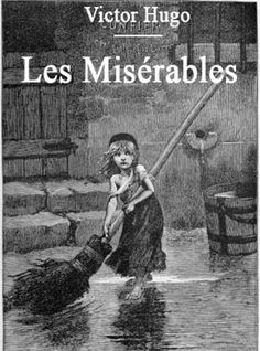 """Illustration of Cosette by Émile Bayard, from the original edition of Hugo's """"Les Misérables"""" (1862)"""