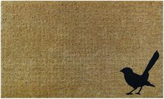 Shop Natural Willy Wag Tail Doormat at Interiors Online. Exclusive High End Furniture. OFF First Order & Australia Wide Delivery Outdoor Plants, Indoor Outdoor, Outdoor Living, Interiors Online, Australian Birds, Traditional Furniture, Garden Theme, French Country Style, Whittling