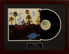 Silent Auction Item The Eagles Autographed Record Album #fundraising #auction https://www.cfr1.org/fundraising-items/