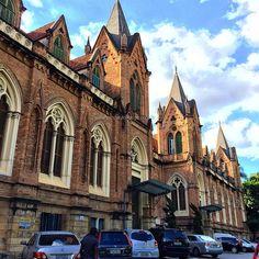 Fachada da Santa Casa de São Paulo - Brasil