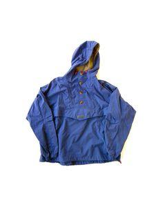 1980s Columbia Rain Parka - Made in Portland, Or - Men's Free Size/XL. $20.00, via Etsy.