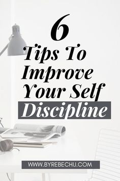 6 Tips to improve Self-Discipline. How to be more self-disciplined, productive and succesful person. Mastering self-discipline makes the difference between struggling on your way to a successful life or getting there easy, painless and fast. #Selfdiscipline #Discipline #Life #Success #Motivation #Selflove #Selfcare #Selfcontrol #Personalgrowth #Selfhelp #Selfimprovement Self Development Books, Development Quotes, Personal Development, Benefits Of Mindfulness, Mindfulness Activities, How To Better Yourself, Improve Yourself, Books For Self Improvement, Growth Quotes