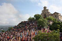 Imagen del Santuario dedicado a la Virgen de la Cabeza (Jaén) Spain