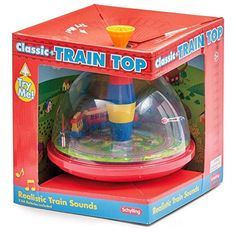 Spinning Tops - Schylling Electronic Train Top *** For more information, visit image link.