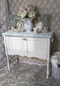 A personal favorite from my Etsy shop https://www.etsy.com/listing/267016387/shabby-side-boardconsole-table-sofa