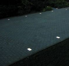 recessed driveway lighting - because people keep running over them | Home  ideas | Pinterest | Running, Lighting and
