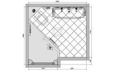 Badkamer 2x2m