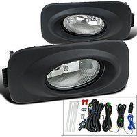 Cheap 2004-2005 Acura TSX JDM Clear Bumper Driving Fog Lights Bulbs Switch sale
