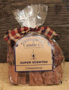 """Thompson's Candle Super Scented Crumbles/Tarts/ Melts 6 oz """"Cinnamon"""" #ThompsonsCandleCo"""