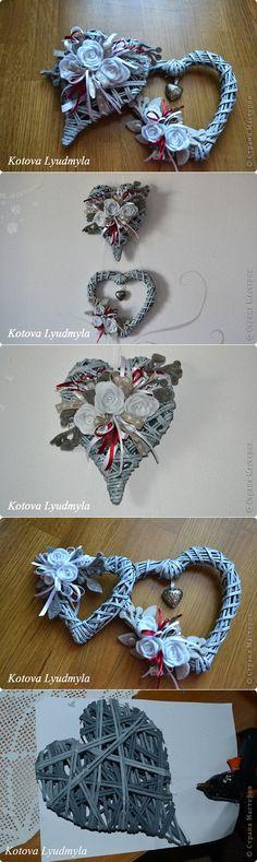 Плетенные сердечки к Новому году. Paper Straws, Charmed, Bracelets, Jewelry, Jewlery, Jewerly, Schmuck, Jewels, Jewelery