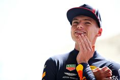 Max Verstappen of Netherlands and Red Bull Racing prepares to drive in the garage during practice for the Grand Prix of Bahrain at Bahrain International Circuit on March 2019 in Bahrain,. Get premium, high resolution news photos at Getty Images Red Bull F1, Red Bull Racing, Formula 1, Mark Thompson, Thing 1, Dream Wall, F1 Drivers, Fighter Pilot, I Like Him