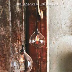 Con estas lámparas y su iluminación puedes crear estilos y ambientes diferentes en los espacios de tu casa. Imagínatelas en ese lugar especial que tanto te gusta. Vive la realidad del buen vivir #Conceptual. Te esperamos en #IndianaMall local 164