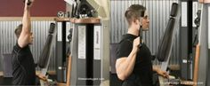 Single Arm Lat Pulldown-Correct Form and Muscles Used | http://bit.ly/1tWJZeA