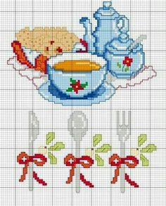 10 Beautiful Guidelines For Diy Embroidery, Cross Stitch Embroidery, Embroidery Patterns, Cross Stitch Kitchen, Cross Stitch Heart, Cross Stitch Designs, Cross Stitch Patterns, Beaded Cross, Sewing Projects For Kids