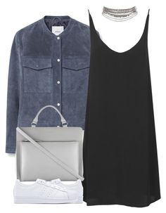 """""""Untitled #4123"""" by maddie1128 ❤ liked on Polyvore featuring MANGO, Topshop, Radley and adidas Originals"""